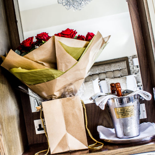 The best hotel for valentine's in the Lake District, The Cranleigh Boutique.