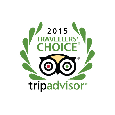 Travellers Choice Award – TripAdvisor 2015