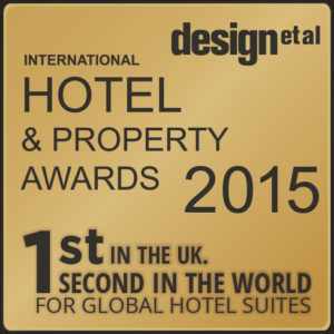 2nd in the World, 1st in the UK for Global Hotel Suites