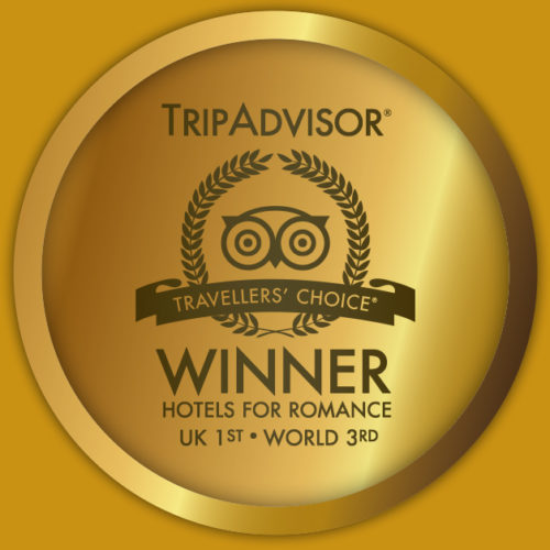 No.1 Hotel for Romance, 3rd in the World – Trip Advisor Awards 2013