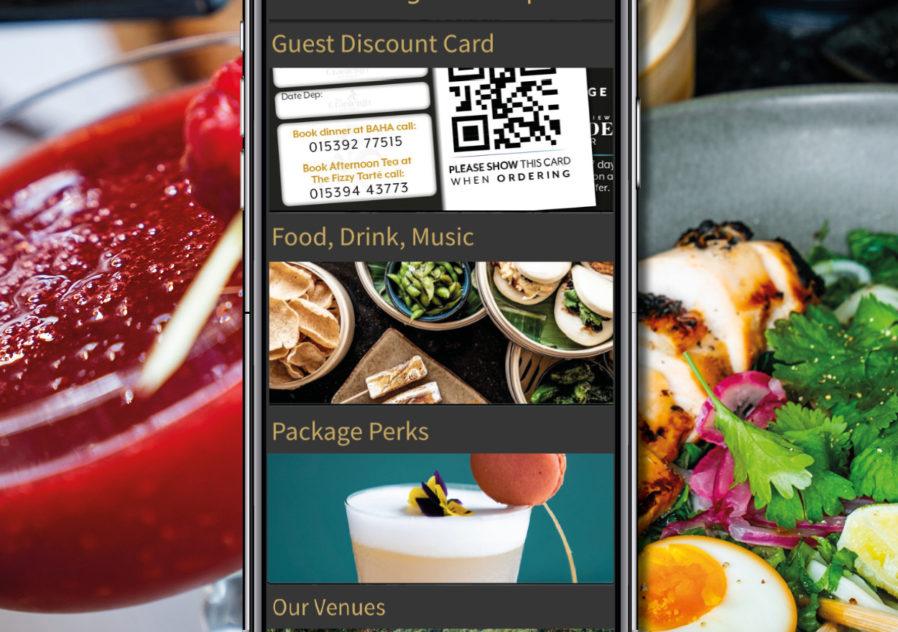 Cranleigh Boutique Guest App Imagery