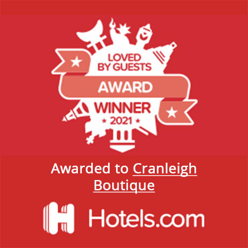 Loved by Guests Hotels.com Award 2021