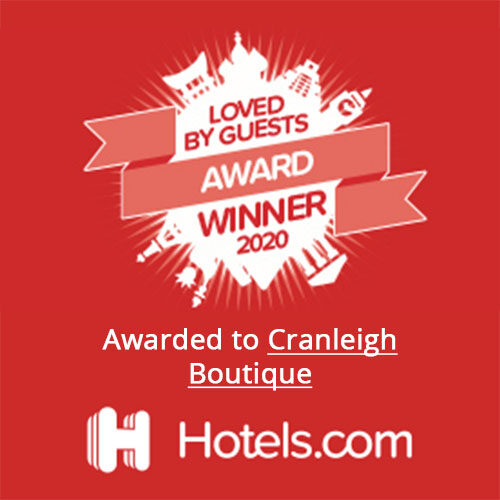 Loved by Guests Hotels.com Award 2020