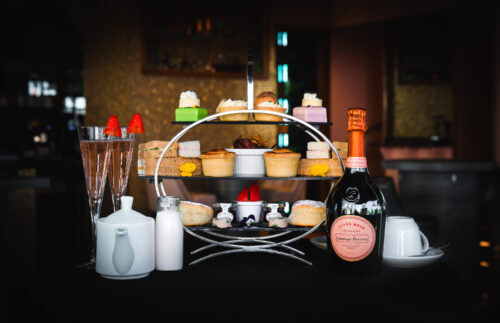 The Fizzy Tarte - Outdoor dining in the Lake District - Afternoon Tea & Laurent Perrier Prosecco