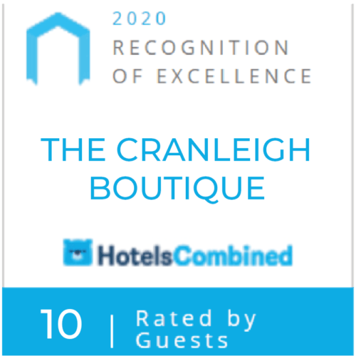 The Church Suites HotelsCombined Recognition of Excellence Award 2020