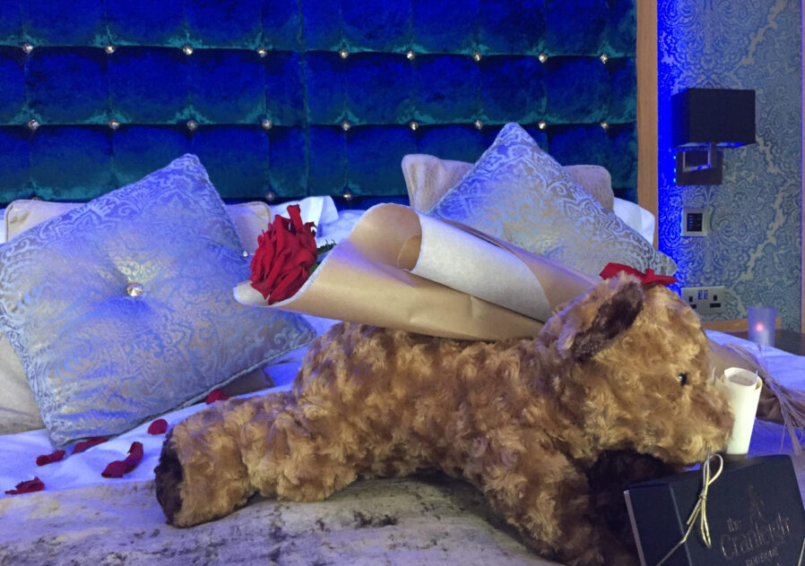 Valentines Day hotel package Cranleigh boutique